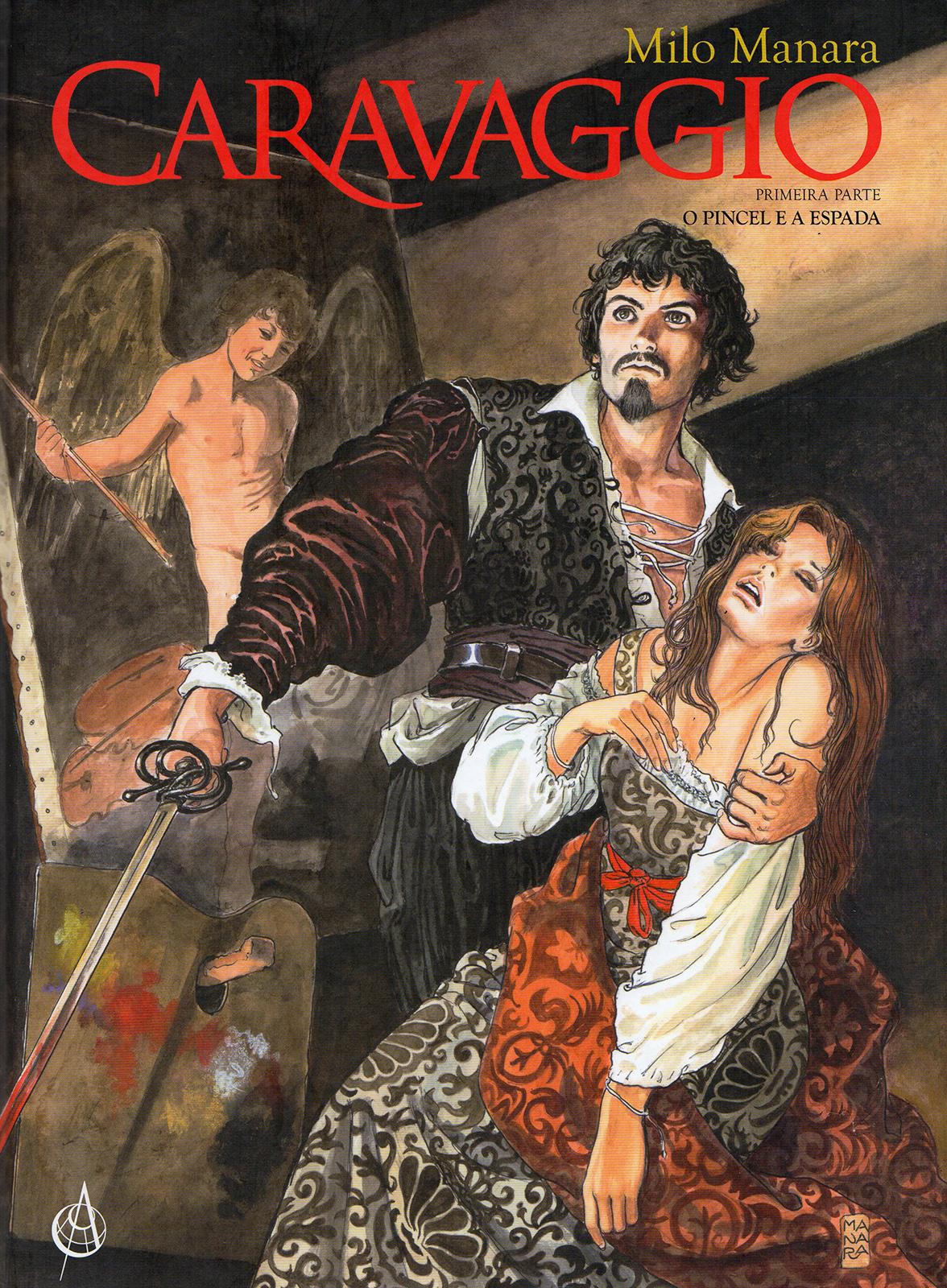Caravaggio 1 O pincel e a espada Capa