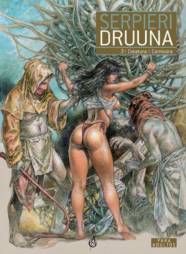Druuna 2 - Creatura e Carnívora. Capa