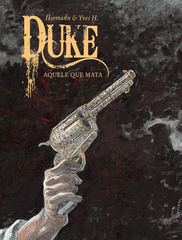 Duke 2. Aquele que mata. Capa