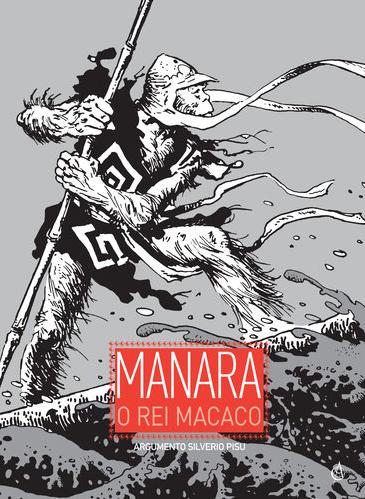 Rei macaco. Milo Manara. Capa