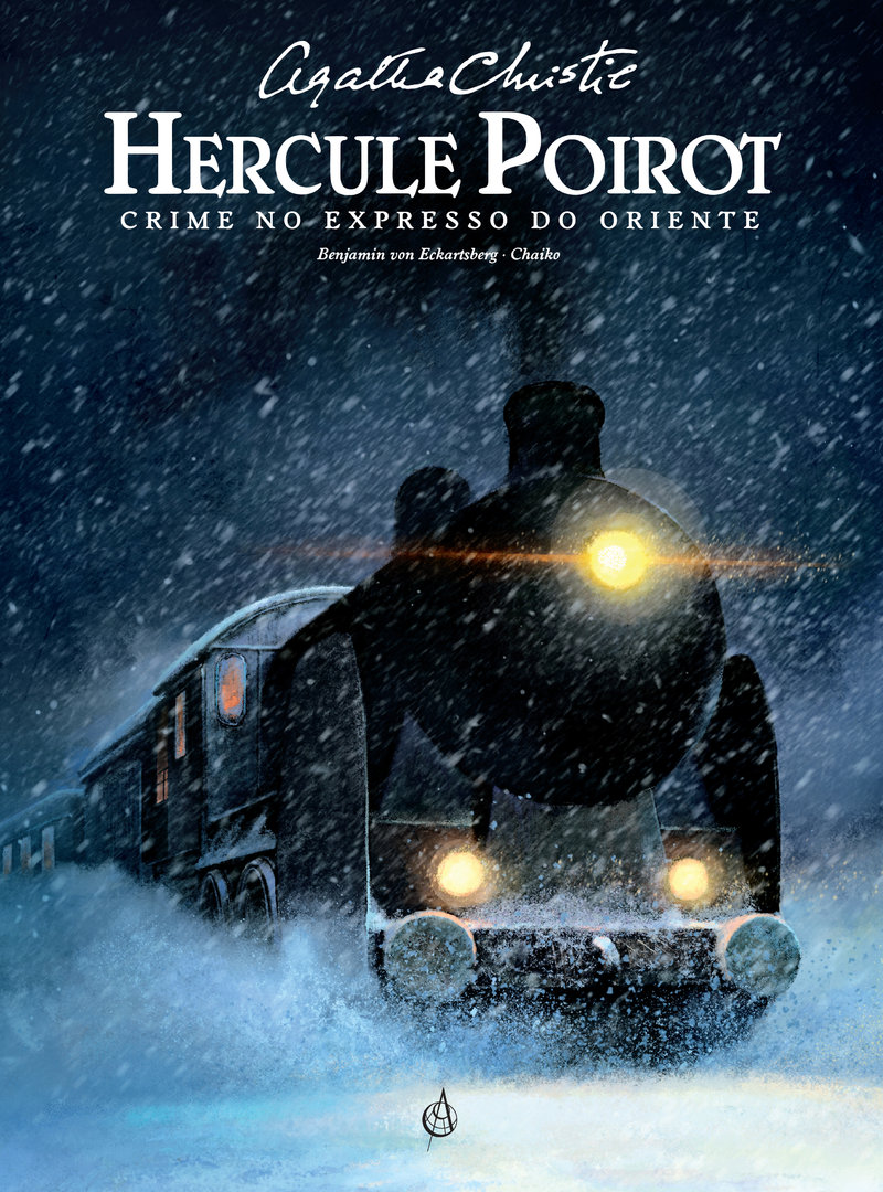 Crime no Expresso do Oriente. Agatha Christie. Hercule Poirot. Capa