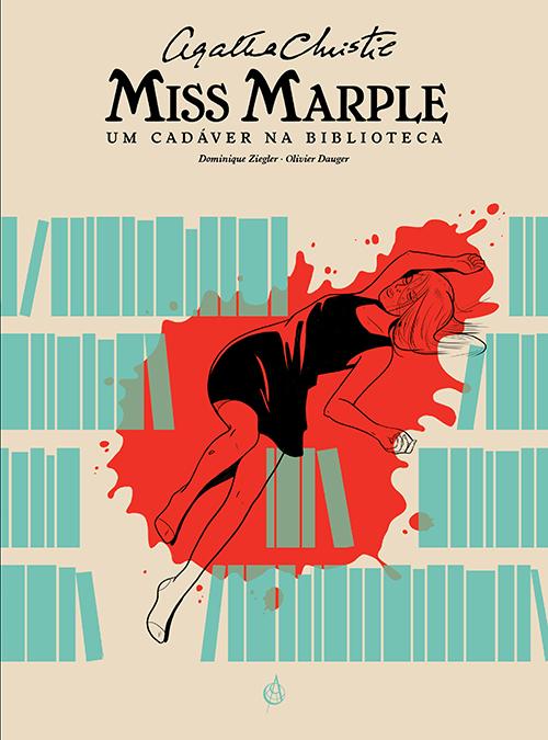 Miss Marple um cadáver na biblioteca Capa