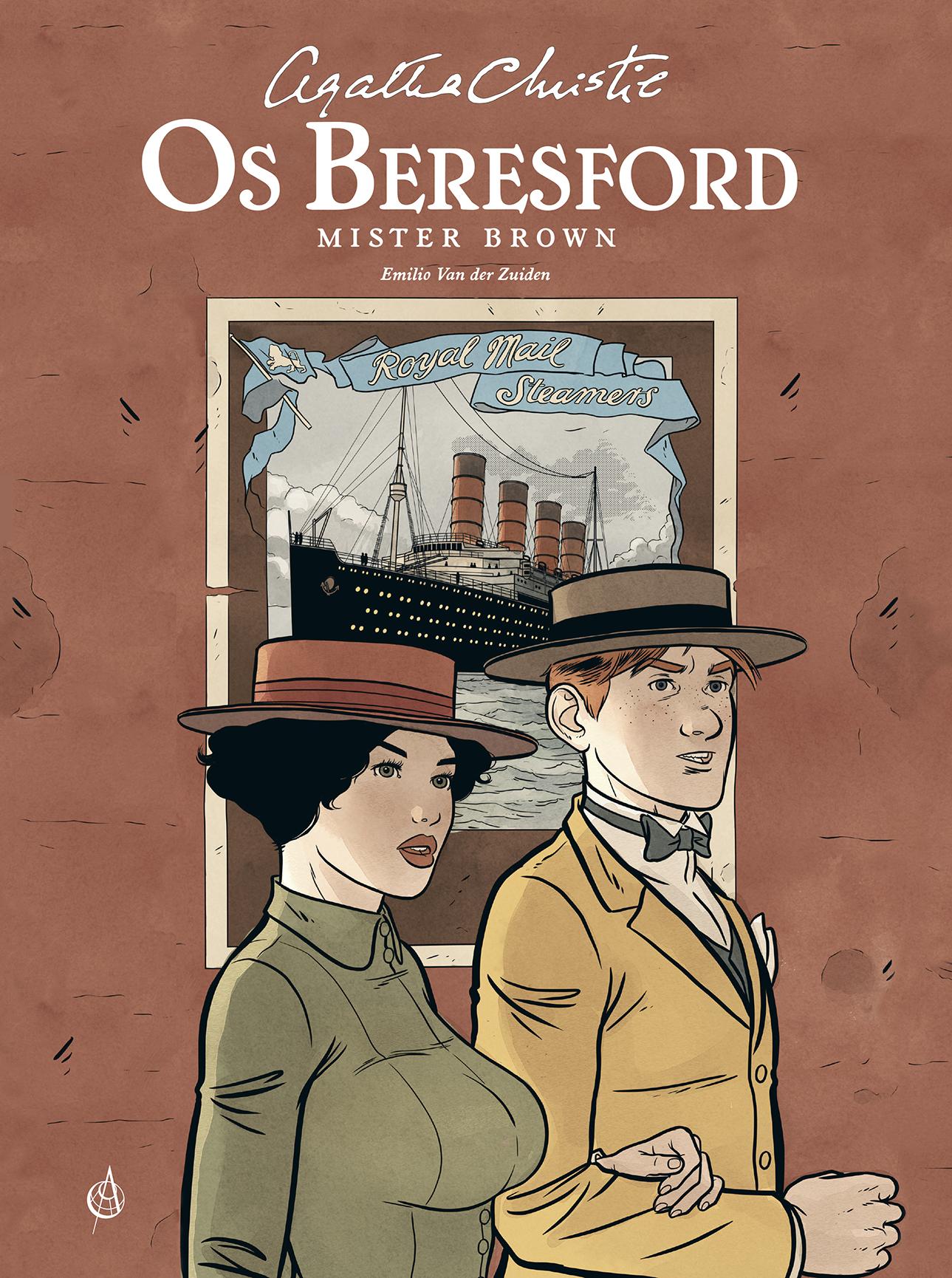 Os Beresford. Agatha Christie. Arte de Autor. Capa