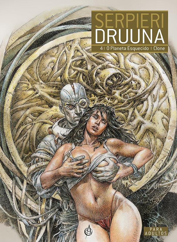 Druuna 4 - Planeta Esquecido | Clone capa Arte de Autor
