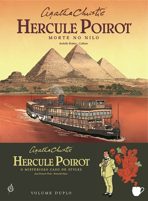 Poirot Morte no Nilo Capa